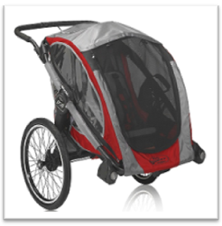 baby jogger Pod bicycle trailer