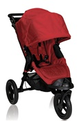 City Elite Single Stroller by Baby Jogger 2012 in Red