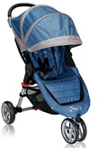 The City Mini Single Stroller in Blue / Grey for 2012 - Model BJ11221