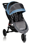 Baby Jogger City Mini GT Single Stroller 2012 in Blue Shadow - Limited Edition