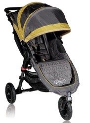 Baby Jogger City Mini GT Single Stroller 2012 in Bamboo / Shadow - Model  BJ15244