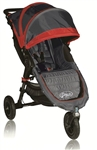 Baby Jogger City Mini GT Single Stroller 2012 in Crimson / Shadow