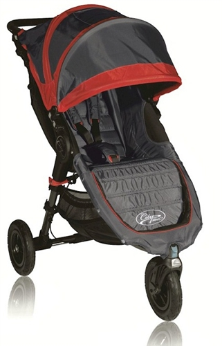 Baby Jogger City Mini Gt Single Stroller 2012 In Crimson