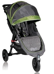 Baby Jogger City Mini GT Single Stroller 2012 in Green / Shadow - Model  BJ15240