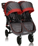 Baby Jogger City Mini GT Double Stroller 2013 in Crimson / Shadow - Model