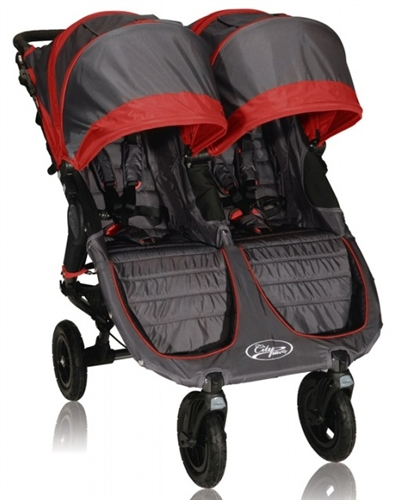 Baby Jogger City Mini Gt Double Stroller 2013 In Crimson