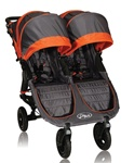 Baby Jogger City Mini GT Double Stroller 2012 in Orange / Shadow - Model  BJ16239