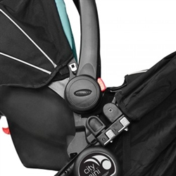 baby jogger graco click connect car seat adapter for single stroller. Black Bedroom Furniture Sets. Home Design Ideas
