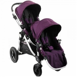 baby jogger city select double stroller 2012 in amethyst purple. Black Bedroom Furniture Sets. Home Design Ideas