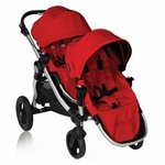 Baby Jogger City Select Double Stroller Ruby Red