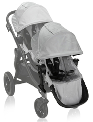 Baby Jogger City Select Double Stroller 2013 In Silver