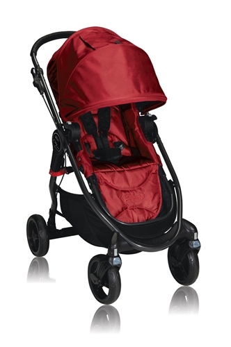 City Versa Stroller By Baby Jogger In Red Bj21230