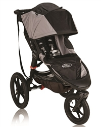Baby Jogger Summit X3 Single Stroller Black Grey 2013