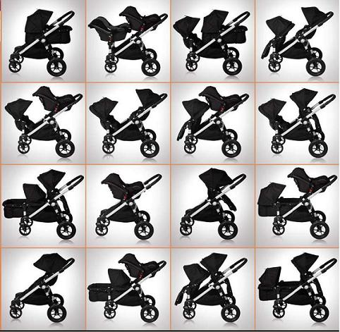 Baby Jogger City Select Stroller 2016 In Red Black Frame Special Edition Ships Now